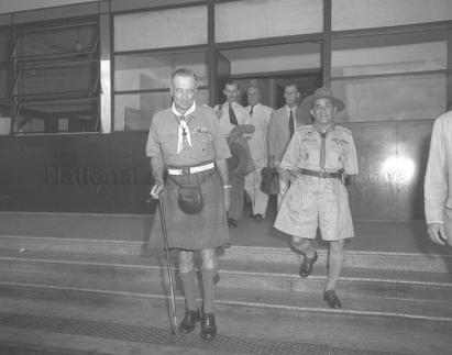 chief scout lord rowalln at kallang airport 18111954a