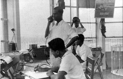 interior of kallang airport control tower 1939a