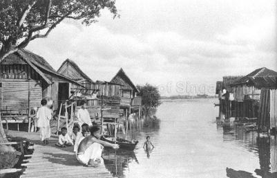 kallang river malay village