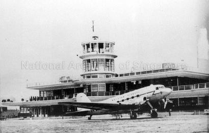 malayan airway plane 1950a