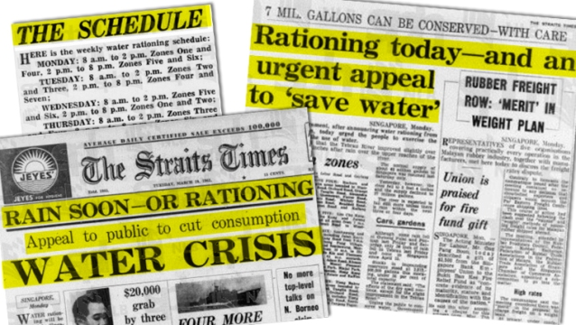 newspaper-ration-water